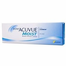 One Day Acuvue Moist 30pck עדשות מגע יומיות